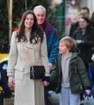 Liv Tyler Walks Her Son Home From School