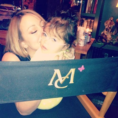 Mariah Carey and Monroe
