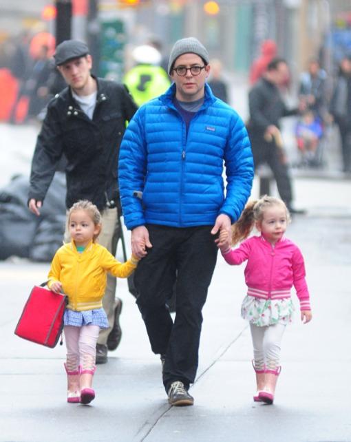 Matthew Broderick Makes The School Run