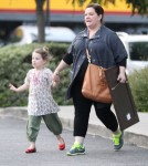 Exclusive... Melissa McCarthy Takes Daughter Vivian Christmas Shopping