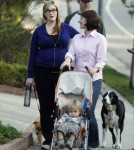 Exclusive... Pregnant Sara Rue Out For A Walk In Hollywood