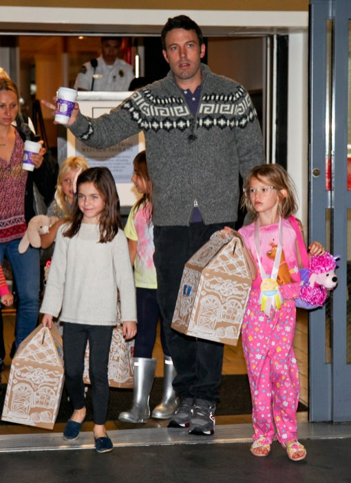 Violet Affleck Celebrates Her Birthday at Build-A-Bear