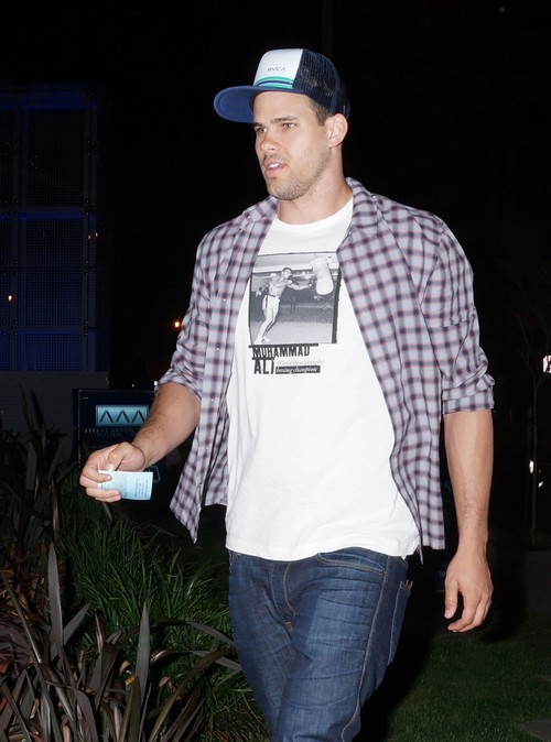 Kris Humphries Dines At BOA Steakhouse
