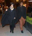 Pregnant Kim Kardashian & Kanye Shop At Celine