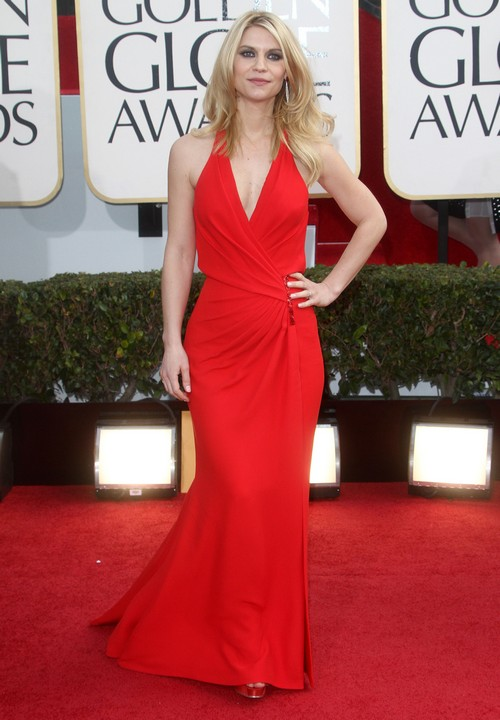 New Mom Claire Danes Dazzles At Golden Globe Awards