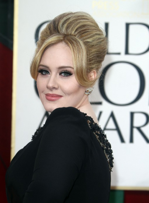 Adele Makes First Post-Pregnancy Appearance At The Golden Globes