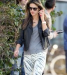 Exclusive... Alessandra Ambrosio Drops Off Anja At School