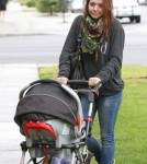 Alyson Hannigan Takes Her Baby To See The Doctor