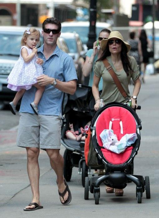Quality Mother's Day Time For Bethenny Frankel, Hubby Jason and Daughter Bryn
