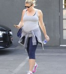 Pregnant Busy Philipps Leaving A Gym In West Hollywood