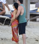 Exclusive... Channing Tatum & Jenna Dewan Relax In St Barts