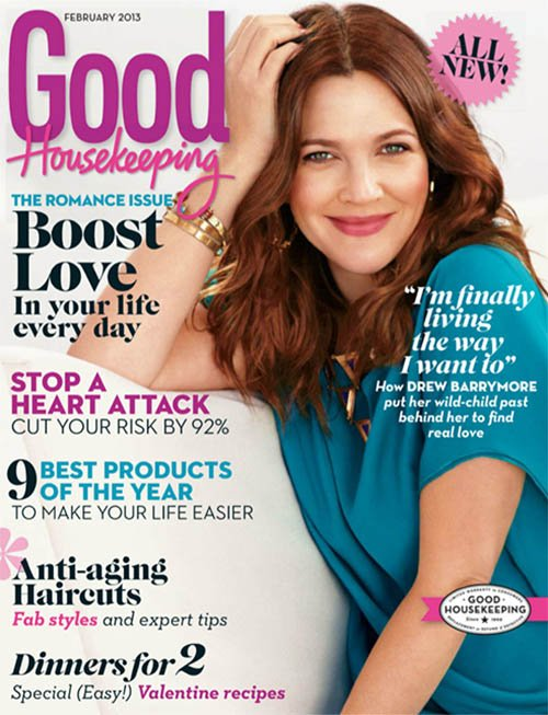 Drew Barrymore: Not Worrying About Losing The Baby Weight