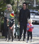 Gwen Stefani and Her Fashionable Family Enjoy a Day Out