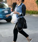 Pregnant Jenna Dewan Runs Errands In Los Angeles