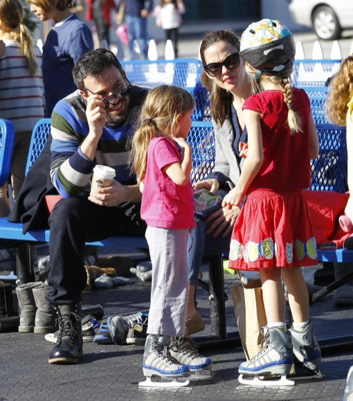 It's A Family Day For Ben Affleck & Jennifer Garner