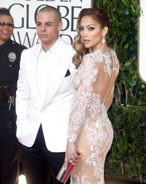 Jennifer Lopez at The 70th Annual Golden Globe Awards in LA