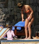 Semi-Exclusive... Jessica Alba Soaks Up The Sun In Cabo With Her Daughters