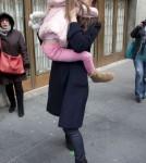 Katie Holmes Takes Suri To Her Play