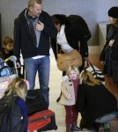 Kevin Costner takes his family to Paris