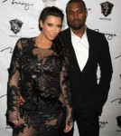 Kim Kardashian Hosts The New Year's Eve Countdown At 1 OAK Nightclub