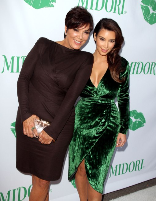 Kim Kardashian Hosts The Midori Makeover Parlour in Santa Monica