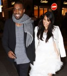 Kanye West Takes Pregnant Kim Kardashian Shopping in Paris