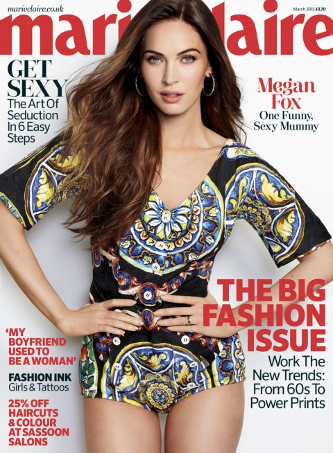 Megan Fox: My Job is To Be With Noah