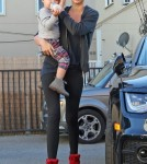 Exclusive... Miranda Kerr And Son Flynn At A Gym In Beverly Hills