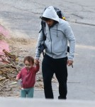 Orlando Bloom & Flynn Out For A Stroll