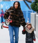 Padma Lakshmi Takes Her Daughter Krishna Out To Ride Her Tricycle