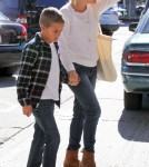 Reese Witherspoon Grabs Food With Her Son