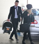 Reese Witherspoon Takes Her Baby To Get A Checkup