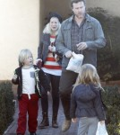 Exclusive... Tori Spelling Takes The Kids To See The Dentist