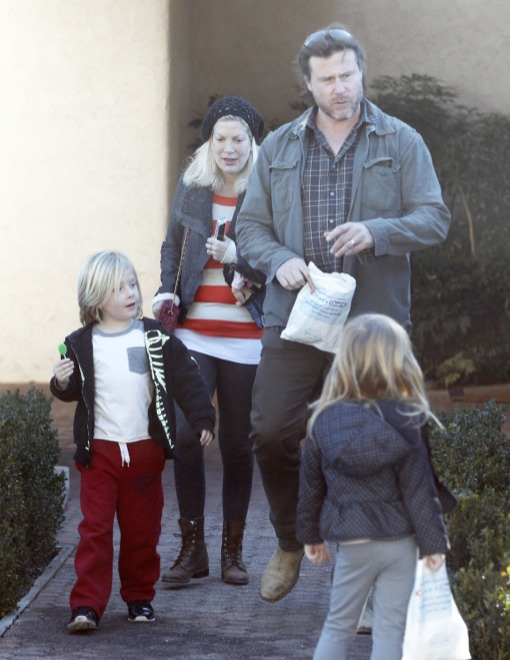 Tori Spelling Makes Sure Her Kids Keep Their Teeth Healthy