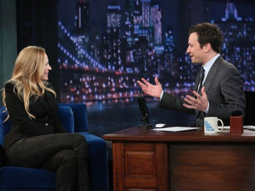Uma Thurman On Jimmy Fallon