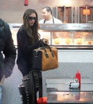 Victoria Beckham & Cruz Feast On Fish & Chips