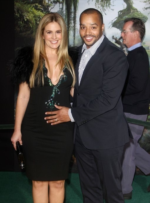Cacee Cobb Debuts Baby Bump on The Green Carpet