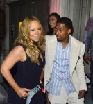 Mariah Carey and Nick Cannon Attend the 2012 Project Canvas Exhibition and Art Gala