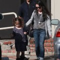 Exclusive... Valentina Pinault Leaving Her Music Class In LA