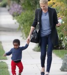 Semi-Exclusive... Charlize Theron Takes Jackson To A Playdate
