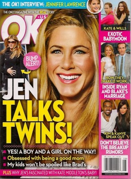 Jennifer Aniston Pregnant, Having Twins, A Boy and A Girl: REPORT