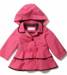 London Fog Kids_Pink Bow Trench
