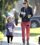 Alessandra Ambrosio & Anja Bond Over Breakfast