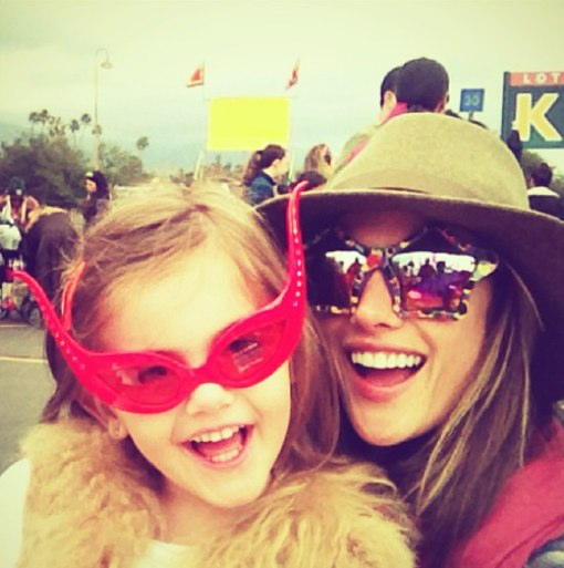 Alessandra Ambrosio & Anja Bring The Carnival To Los Angeles