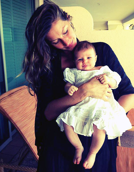 Gisele Bundchen Introduces Baby Vivian