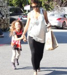 Halle Berry Shops For Groceries With Nahla