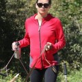 Pregnant Jenna Dewan Takes Her Dogs To Runyon Canyon