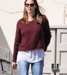 Jennifer Garner And Son Samuel Spend The Day Together In Brentwood