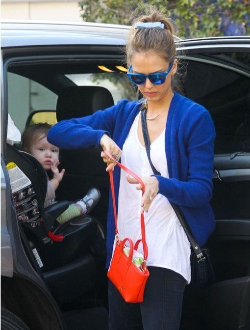 Jessica Alba Enjoys A Day With Her Family in Santa Monica