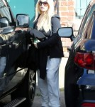 Exclusive... Pregnant Jessica Simpson Out And About In Los Angeles